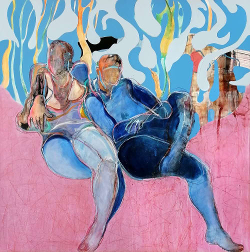 Charoula Nikolaidou - Paintings and Art