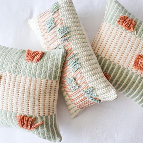 Pillows by Zuahaza by Tatiana seen at Mesa De Yeguas Country Club, Anapoima - Salento Pillows and Barichara Pillows