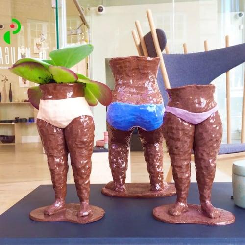 Vases & Vessels by Anna Bystrup Keramik seen at Berlin, Berlin - Flowerpot Ladies