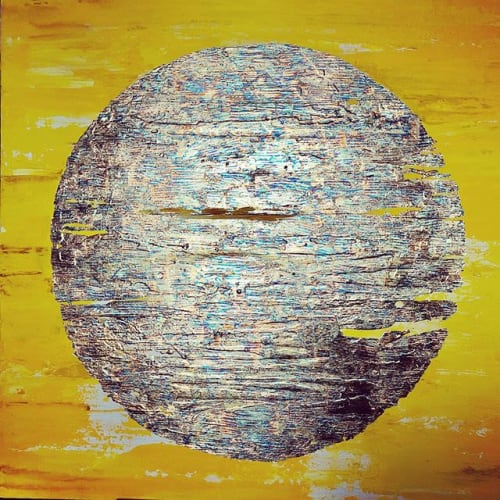 Paintings by Georgina Pearce Art seen at Private Residence, Winchester - Yellow Dwarf