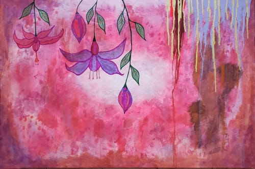 Paintings by Tina Mokuau seen at Private Residence, Reno - Linger