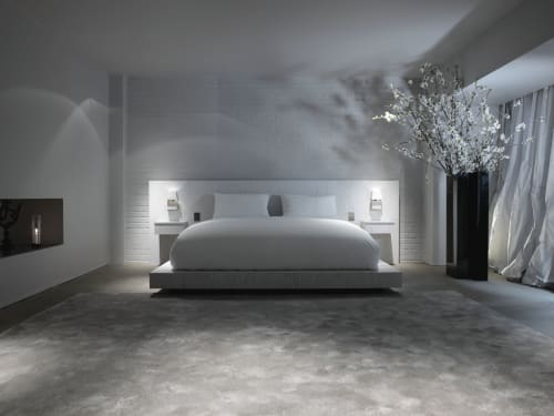 Beds & Accessories by Guillaume Alan seen at Private Residence, London - Sevva bed