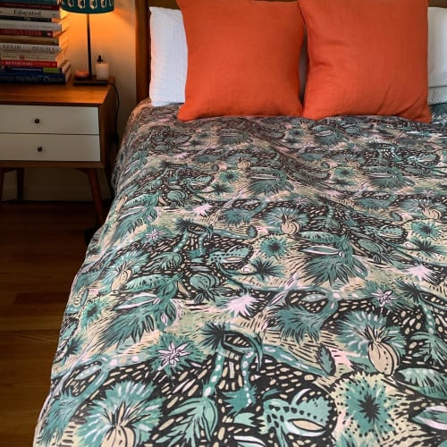 Linens & Bedding by Laurie Olinder seen at Private Residence, New York - Laurie Olinder Fabric