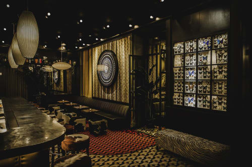 Interior Design by Volenec Studio seen at Butterfly Soho, New York - BUTTERFLY