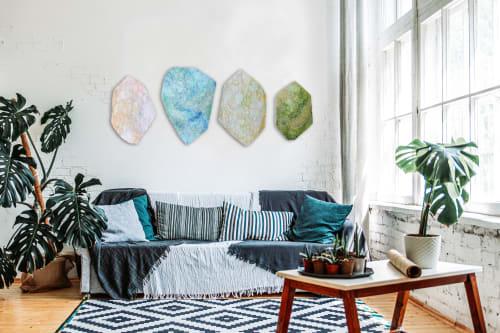 Wall Hangings by Chieko Shimizu Fujioka seen at Creator's Studio, Santa Clara - Elements