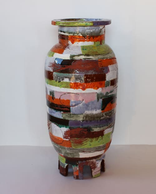 Vases & Vessels by Christopher Russell seen at New York, NY  Studio, New York - Tall Vessel
