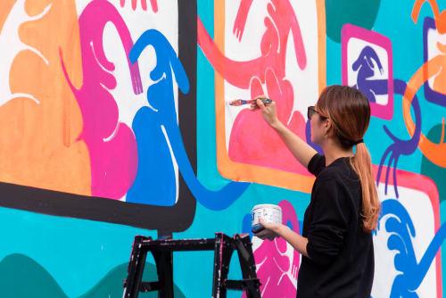 Keeenue - Murals and Street Murals