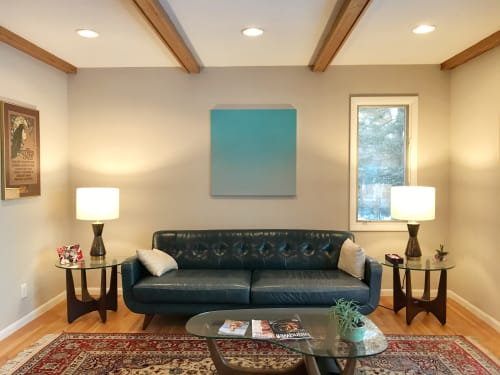 Paintings by Lindsy Halleckson seen at Private Residence, Crystal - Solitude Series (Silent Search - No. 73)