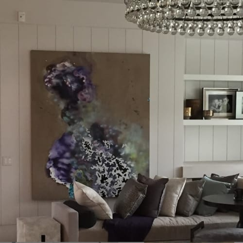 Paintings by Jackie Tileston seen at Private Residence, Chicago - Abstract Painting