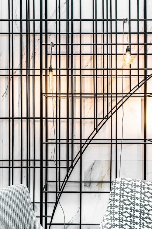 Interior Design by MMXX architects seen at Constantinoff RestoBar, Sofia - Interior Design