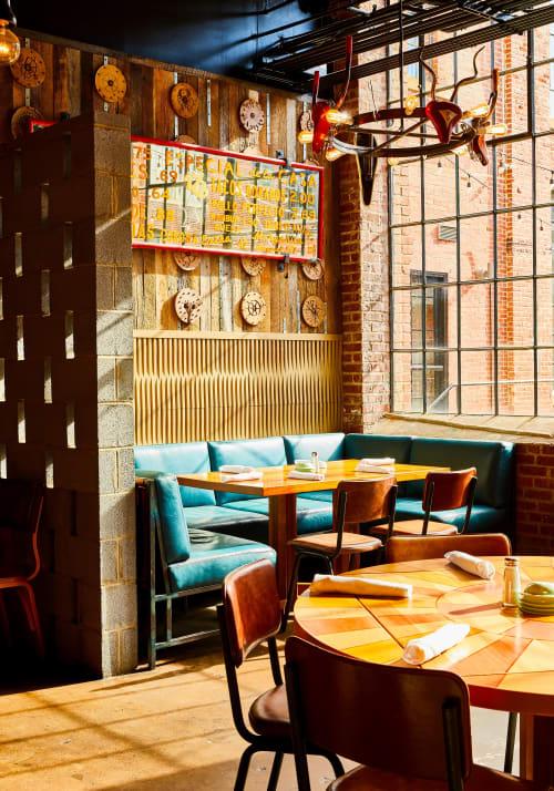 Interior Design by Smith Hanes Studio seen at Superica, Charlotte - Interior Design