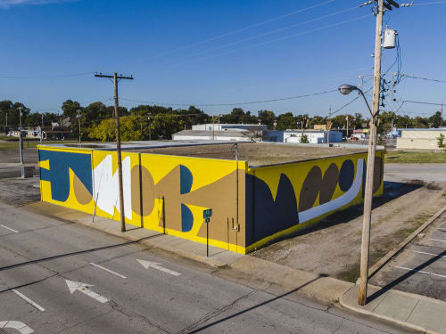 Street Murals by Cody Hudson at Fort Smith, Fort Smith - Unexpected 2018 Mural