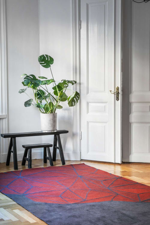 Rugs by Luminea Rugs seen at Private Residence, Stockholm - Crystal