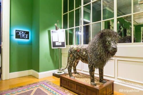 Sculptures by Brian Mock seen at Kimpton Hotel Monaco Washington DC, Washington - Reclaimed Royalty