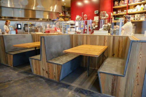 Benches & Ottomans by GoodWood seen at District Donuts, Baton Rouge - District Donuts | Benches