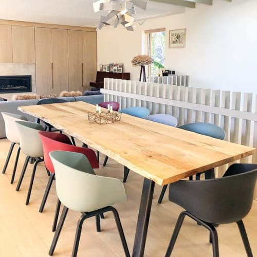 Tables by Konk Furniture Ltd. seen at Private Residence, Bristol - Waney-Stöng table