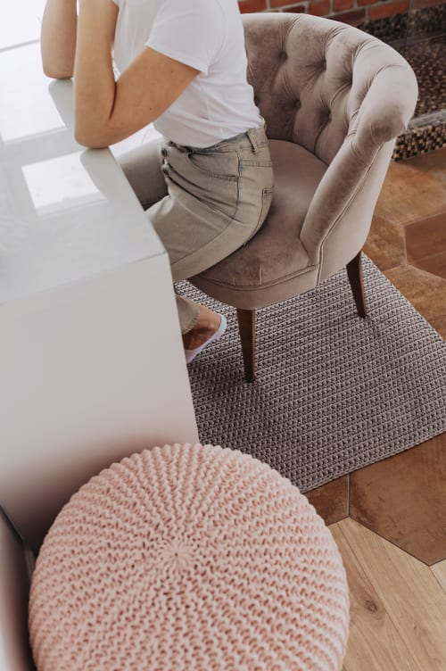Benches & Ottomans by Chasha Home seen at Private Residence, Toronto - Pouf