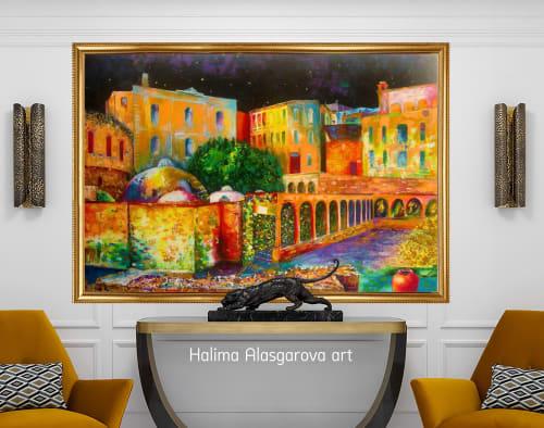 Oil paintings | Paintings by Halima Alasgarova