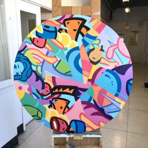 Paintings by Raquel Da Silva seen at Toronto, Toronto - Fragments