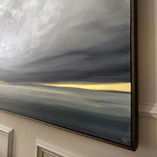 Paintings by Allie Dattilio seen at Private Residence - Landscape Painting