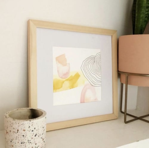 Paintings by Quinnarie Studio seen at Private Residence, Bellingham - Sea of Love