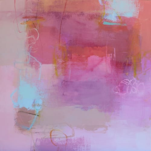 Paintings by Valerie McMullen seen at Allison Sprock Fine Art, Charlotte - How Sweet It Is