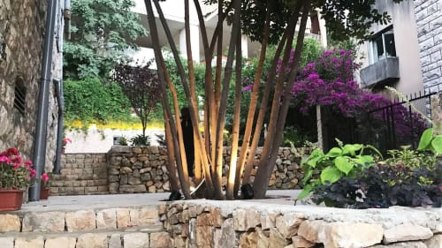 Lighting by Rouzana K Kopti seen at Private Residence - Landscape Design, Landscape Lighting & Facade Lighting