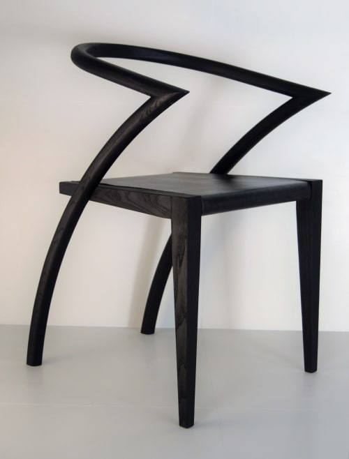 """Chairs by Simon Young Design seen at The Craftsman """"Restaurant & Jazz Club"""", Reggio Emilia - The Asia Chair"""