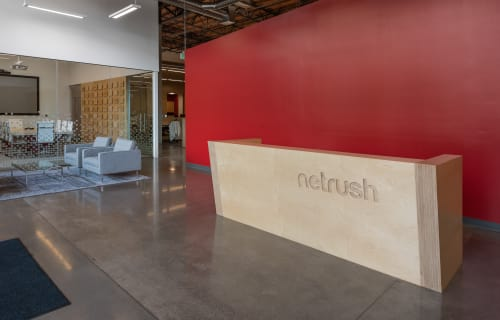Furniture by ADBusch LLC seen at San Francisco, San Francisco - Reception Desk