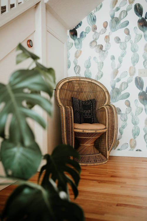 Wallpaper by Coloray Decor seen at Terra LaRock's Home - Cacti Wallpaper