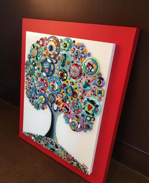 "Art & Wall Decor by Cami Levin seen at Creator's Studio, Dana Point - ""Feel the Rainbow"" - 20x24"""