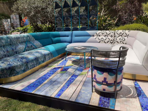 Linens & Bedding by Lulasclan seen at Johnny Was, Santa Barbara - Oromo Unity Chair