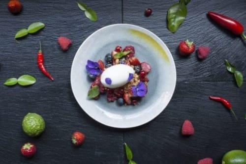 Ceramic Plates by Mieke Cuppen seen at Ron Gastrobar Oriental, Amsterdam - Gastro tableware