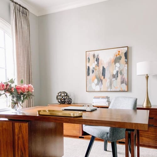 Paintings by H. Ward Miles seen at Private Residence, Carmel - The Office