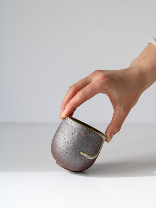 Cups by aku ceramics seen at Private Residence, Edinburgh - aku cup