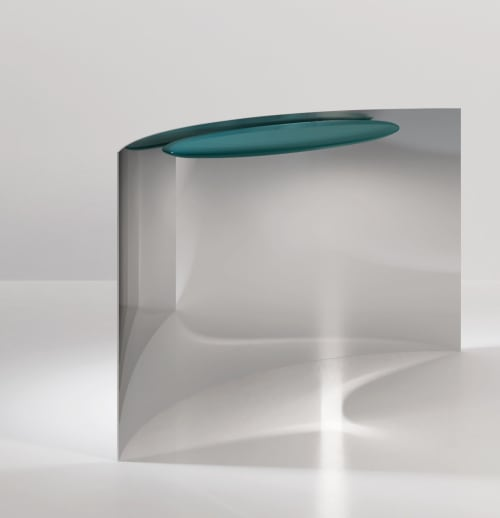 Furniture by SECOLO seen at Creator's Studio, Milan - Tangent Console