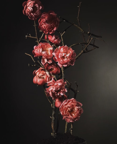 Floral Arrangements by EPOCH FLORAL seen at Chicago, Chicago - Charmed Peony