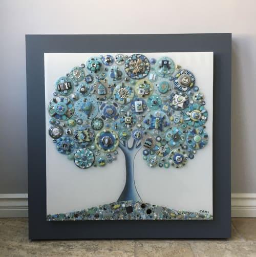 "Tree of Love - ""Sea Dream"" | Art & Wall Decor by Cami Levin"