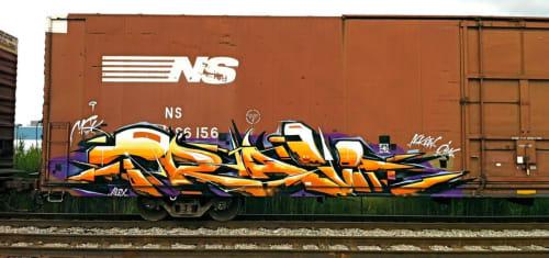 Street Murals by Trav Msk seen at San Jose, San Jose - Mural
