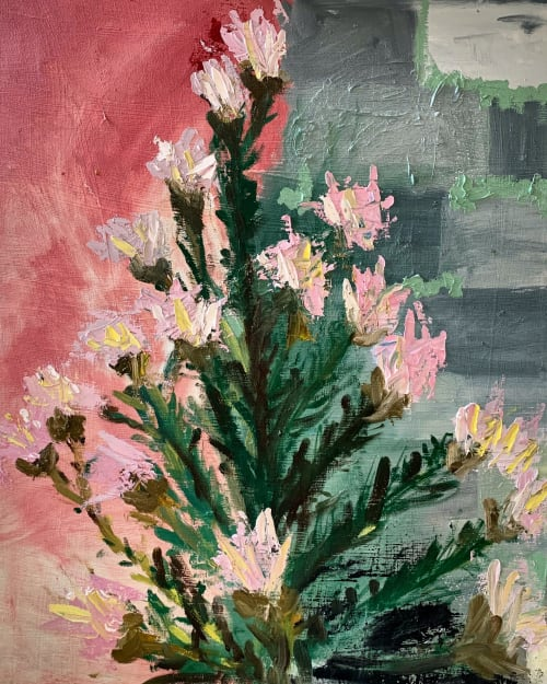 Paintings by Stephanie Echeveste - What Use Are Flowers?