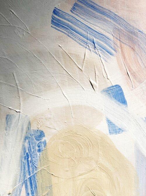 Paintings by Quinnarie Studio seen at Creator's Studio, Bellingham - Untitled #4