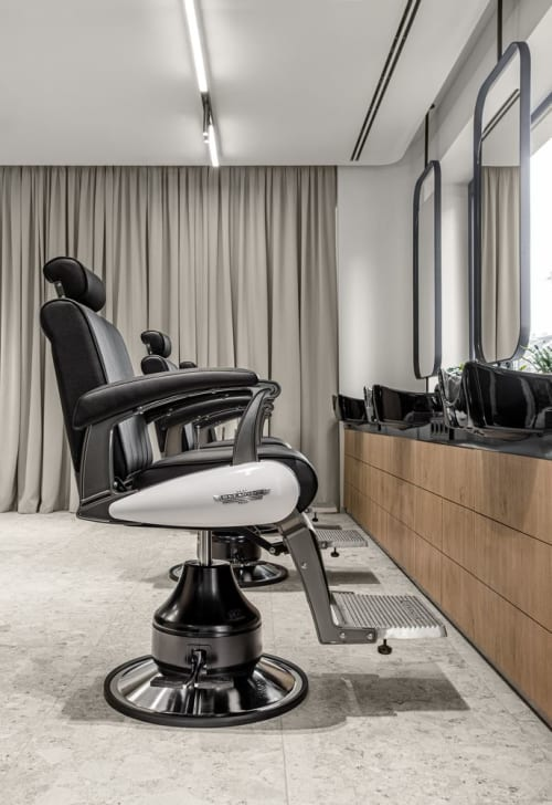 Chairs by Takara Belmont seen at 365 CENTER STUDIO, Kyiv - Barber Chairs