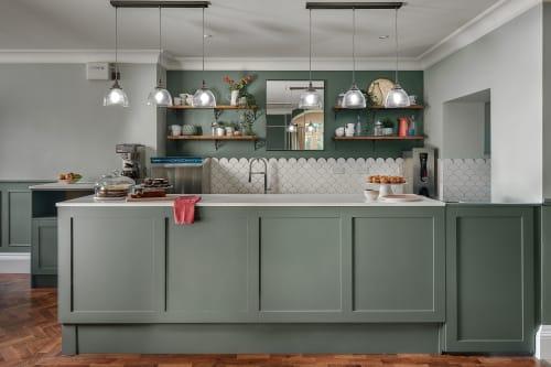 Interior Design by HW Home Designs seen at Farnham, Farnham - Waverley Abbey House Coffee Bar