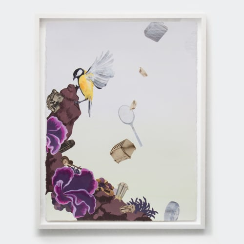 Paintings by Lauren Matsumoto seen at 72 Noble St, Brooklyn - Low Tide No. 5