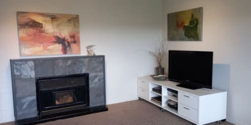 Paintings by Doreen McNeill seen at Private residence, Tauranga - Adagio