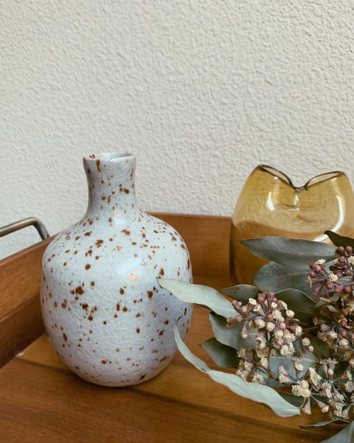 Vases & Vessels by cyan ceramics seen at Private Residence, New York - Ceramic Vessel