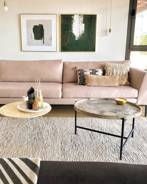 Tables by Linski Design - Concrete Art seen at Private Residence - Ketter