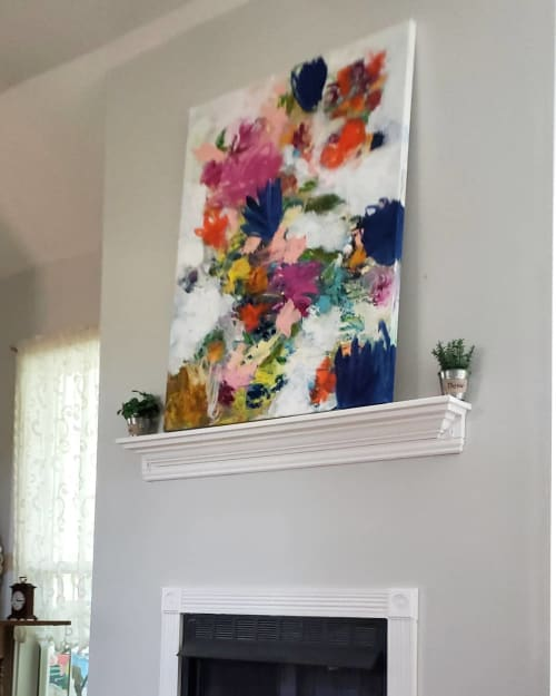 Paintings by Wendy McWilliams seen at Private Residence, Nashville - On The Edge Of Something Beautiful