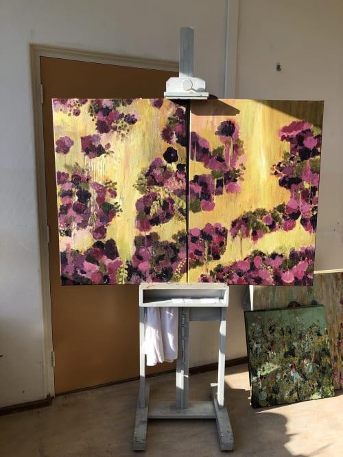 Paintings by Luz Artworks seen at Vuuren Mode BV Van, Beverwijk - Flower Dream (1 & 2)