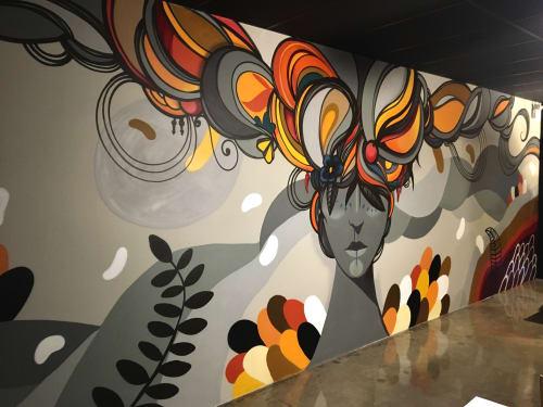 Interior Design by Jotape Pax seen at Mokai Sushi Lounge Bar, Mauá - Mergulho em alto mar